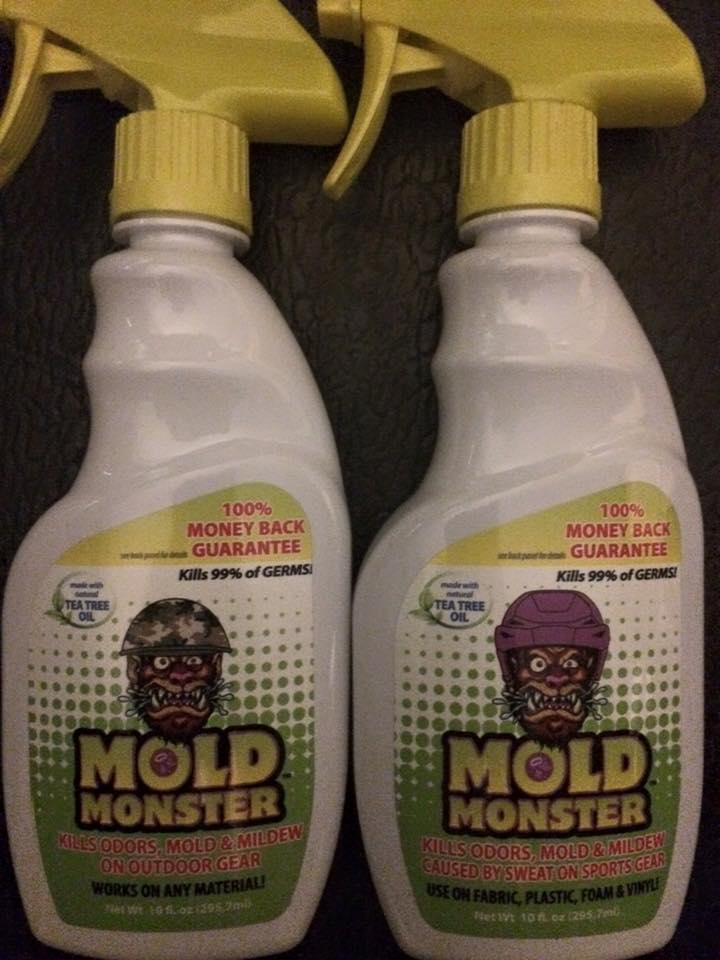 Mold monster to get rid of mold