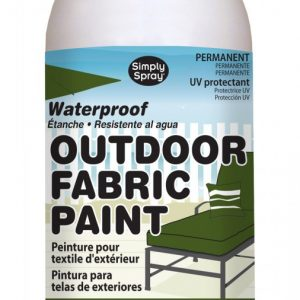 Upholstery simply spray outdoor olive colour fabric paint for furniture restoration