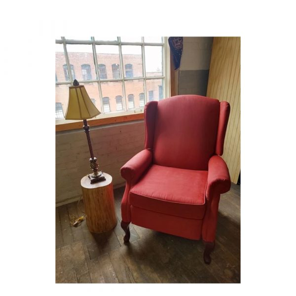 Upholstery simply spray brite red fabric paint for furniture restoration