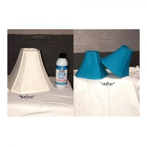 Upholstery simply spray caribbean blue fabric paint for furniture restoration
