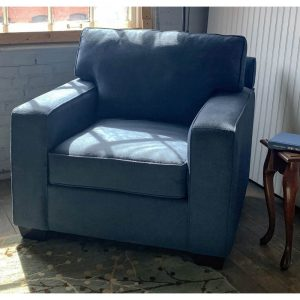 Upholstery simply spray Navy blue fabric paint for furniture restoration