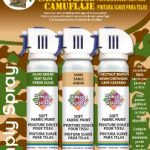 Tie dye Simply Spray® CAMOUFLAGE PACK