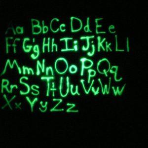 glow in the dark Simply spray - Fabric paint
