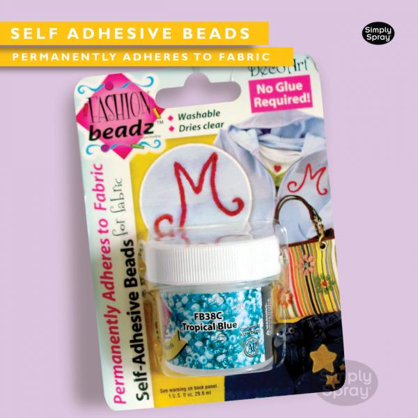 self adhesive beads