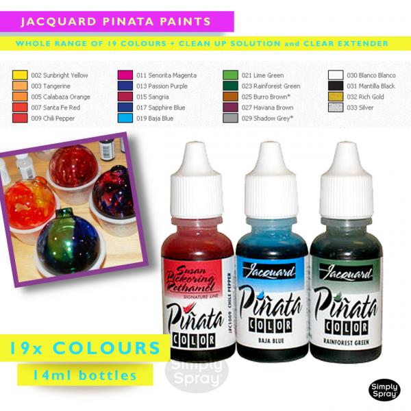 Jacquard pinata paints – piñata