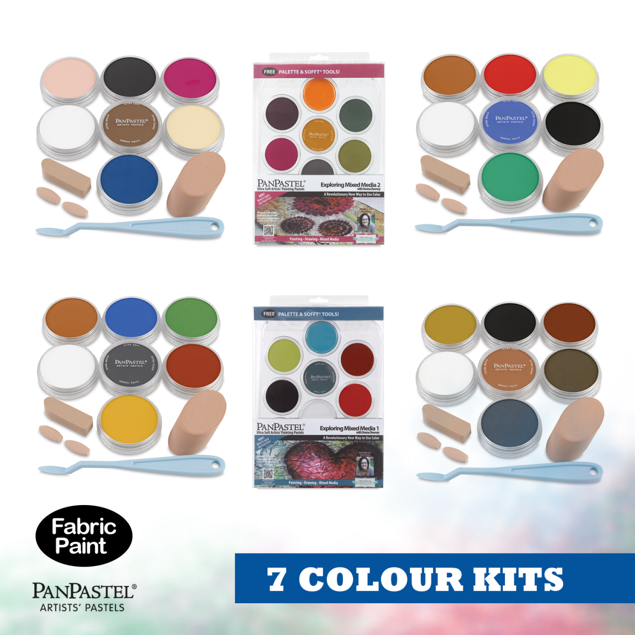 Panpastel 7 colour set