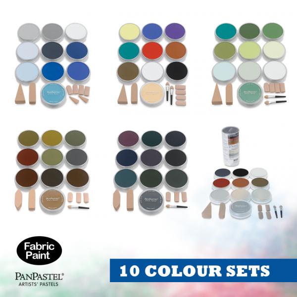 Panpastel 10 colour set