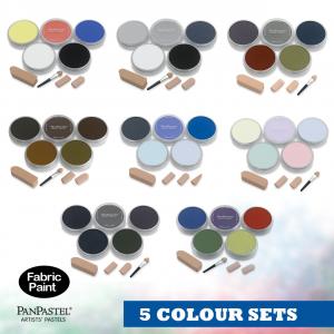 Panpastel 5 colour set