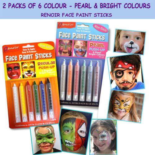 Face paint sticks – cotume