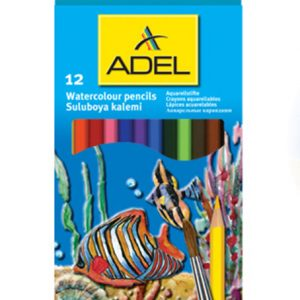 adel watercolour pencil - 12 pack