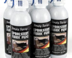 Upholstery simply spray fabric paint for furniture restoration