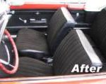 car upholstery repairs restoration