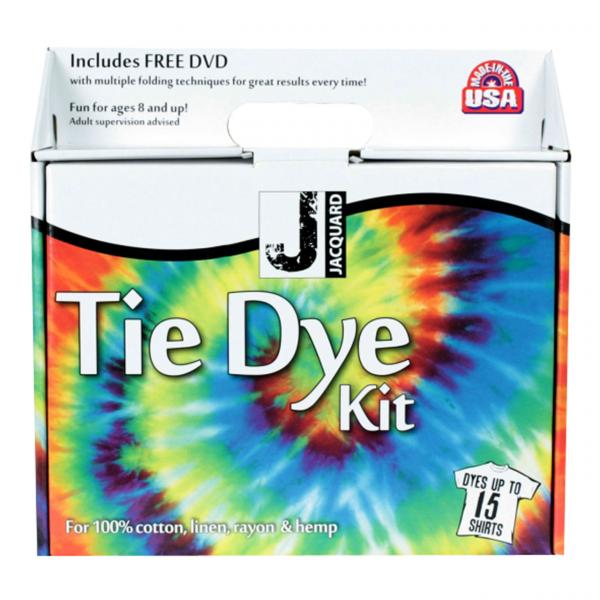 Jacquard tie dye large kit fabric dye colours