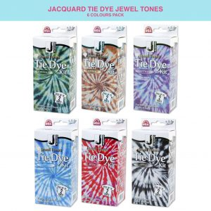 Jacquard tie dye kit in jewel tones - fabric dyeing - Jacquard tie dye kit in jewel tones - fabric dyeing - fabric decorationJacquard tie dye kit in jewel tones - fabric dyeing - fabric decorationtietifabric decoration