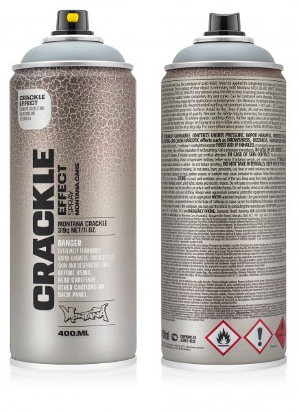 MONTANA SPRAY PAINT CAN CRACKLE EFFECT 400ML