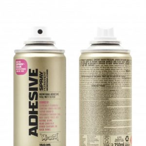 MONTANA PAINT CAN ADHESIVE SPRAY PERMANENT 400ML