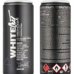 MONTANA PAINT CAN WHITEOUT HIGHLIGHT SPRAY 400ML