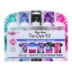 tulip tie dye kit large 5 bottles carousel