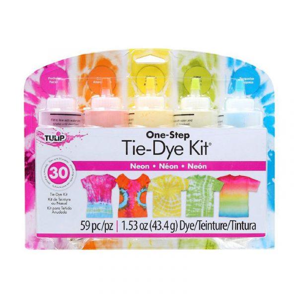 tulip tie dye kit large 5 bottles neon