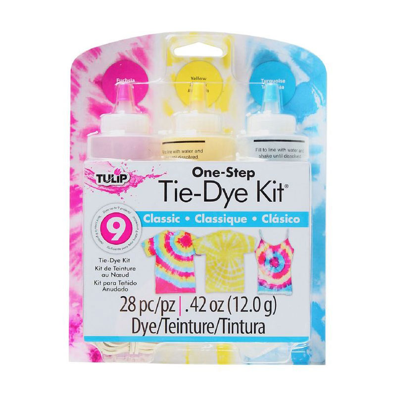 tulip tie dye kit medium 3 bottles classic
