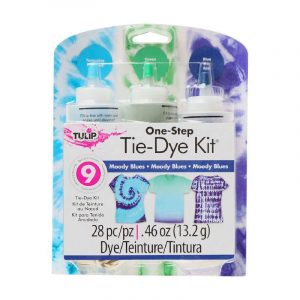 tulip tie dye kit medium 3 bottles moody blues