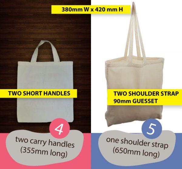 CALICO BAG BULK Model #4#5 – Gift tote bag