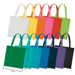 Calico bag in bright colours - Gift tote bag
