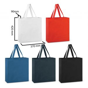 Calico bag in different colours - Gift tote bag