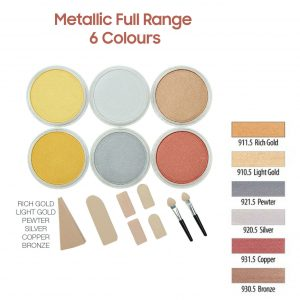 PanPastel Metallic full range 6 colours