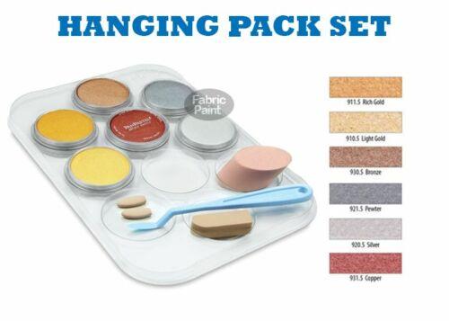 PanPastel Metallic hanging pack 6 metallic colour