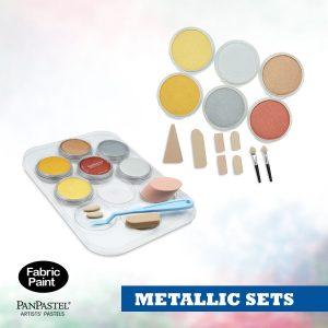 PanPastel Metallic colours sets