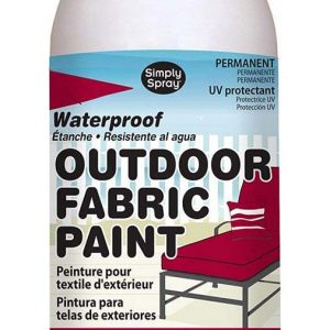 outdoor simply spray Burgundy fabric paint