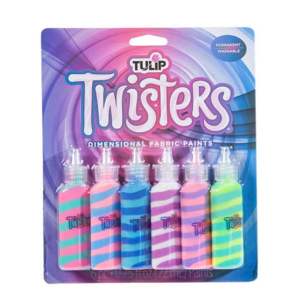 Tulip 3D Dimensional Fabric Paint TWISTERS UNICORN