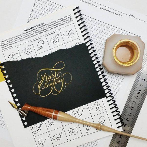 ZIG Kuretake Gold/Silver Mica Calligraphy Ink Traditional Japanese-60ml