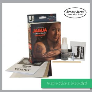Jacquard Jagua Tattoo Kit Non-permanent Body Art Temporary tattoo Kit