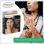 Jacquard Mehndi Henna Kit Non-permanent Body Art Henna Tattoo Kit