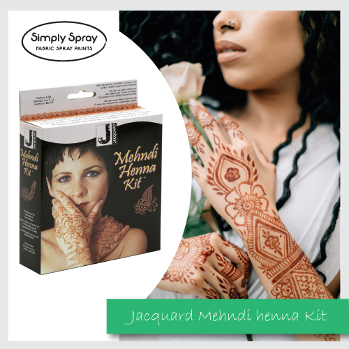 Jacquard Mehndi Henna Kit Non Permanent Tattoo P 02 9550 1544