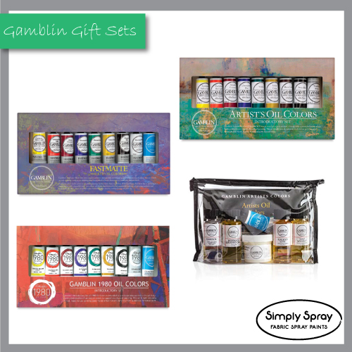 Gamblin Gift Introductory Sets – 9 colours 37ml tubes