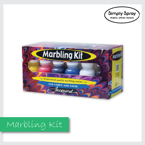 Jacquard marbling colours starter kit
