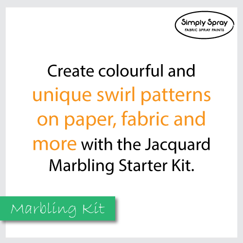 Jacquard marbling colours starter kit