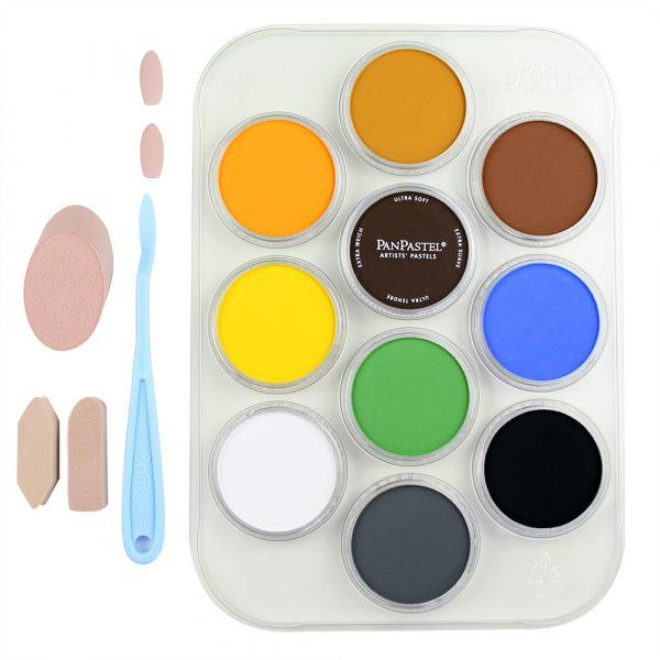 "PanPastel 10 colours set ""WildlIfe Painting"""