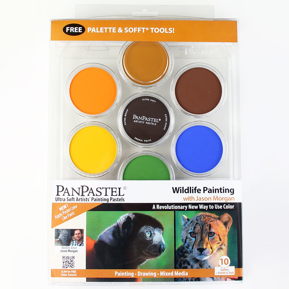 "PanPastel 10 colours set ""WildlIfe Painting"""
