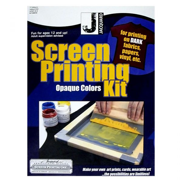 jacquard Opaque Colors screenprinting kit – screen printing
