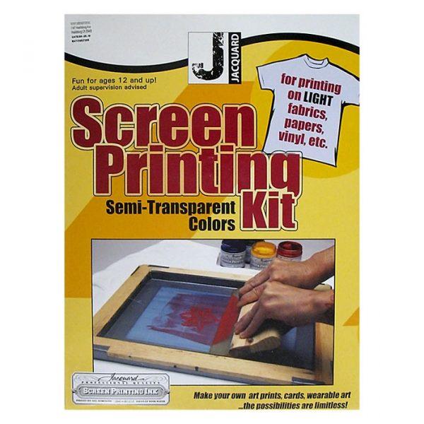 Semi-Transparent Colors Screen Printing Kit