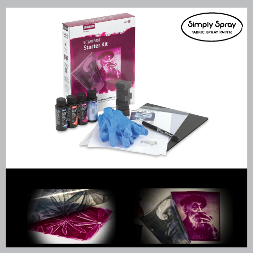 Jacquard Solarfast Class Kit-Photographic art prints with sunlight