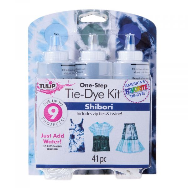 Tulip tie dye kit shibori to decorate your t shirts