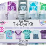 Tulip tie dye kit mermaid to decorate your t shirts