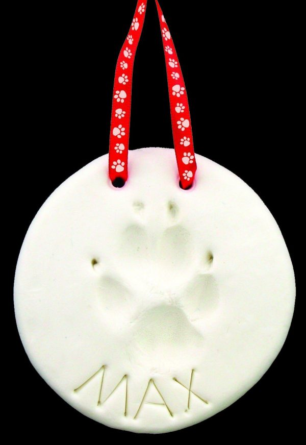 Sculpey Keepsake paw to capture your dog's footprints