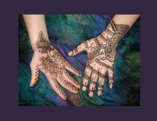 Jacquard Mehndi Henna Kit Non-permanent Body Art Henna Tattoo Kit