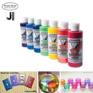 Jacquard airbrush colour